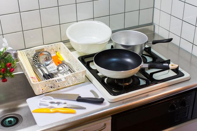 便利なセットでキッチン用品
