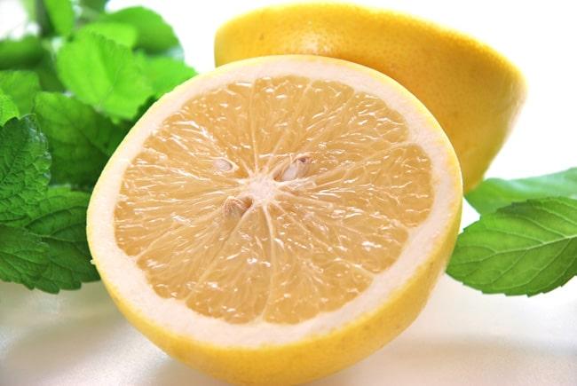 グレープフルーツのクエン酸が有効