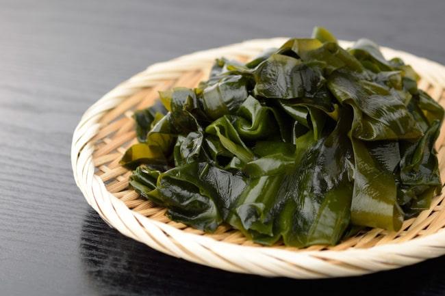 海藻はカリウムと食物繊維が豊富
