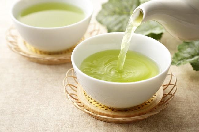 緑茶のカテキン、カフェインが効果的