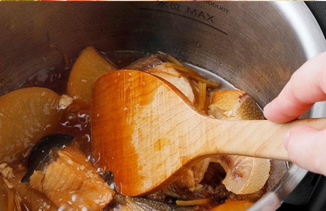 煮詰め機能でより自分好みの味に